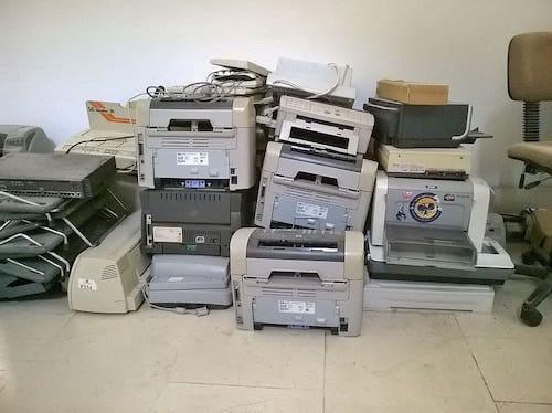 Contabilizar el renting de una impresora.