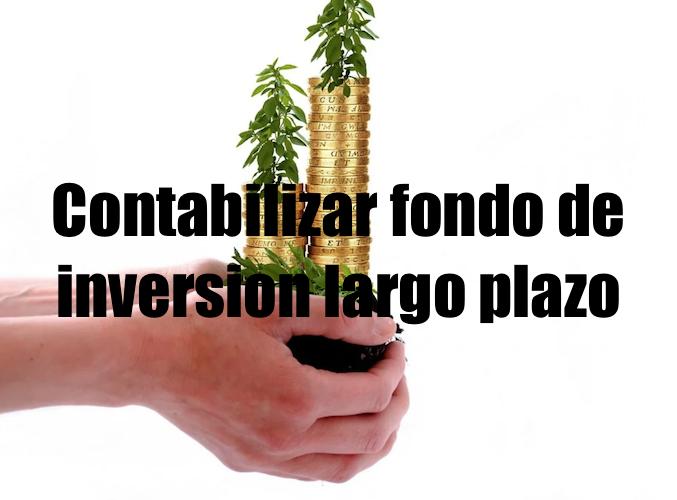 contabilizar fondo de inversion